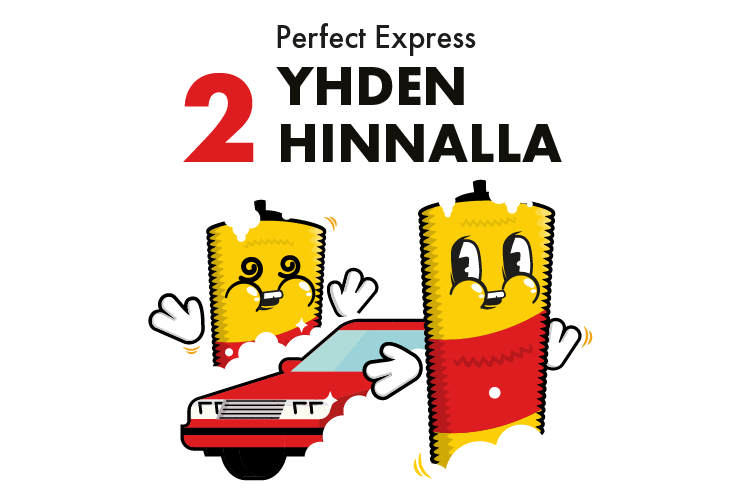 Perfect Express - 2 yhden hinnalla
