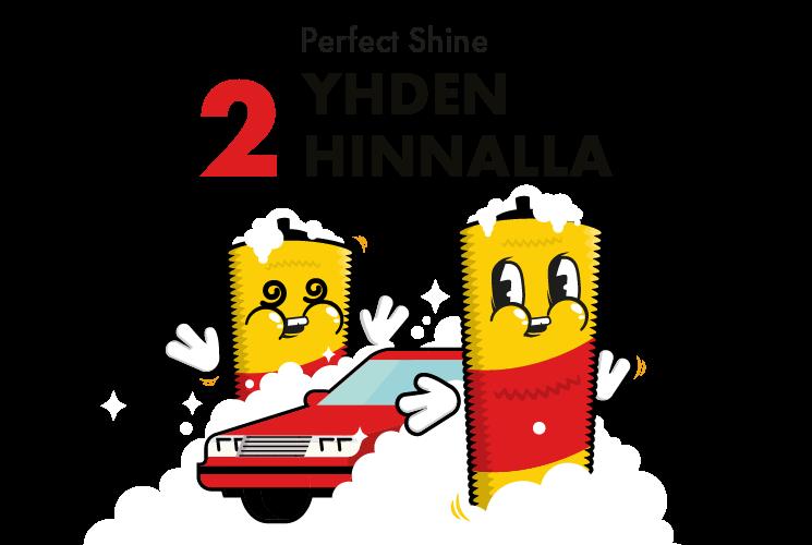 Perfect Shine - 2 yhden hinnalla